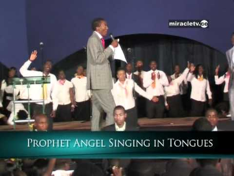 Uebert Angel Singing in Tongues - The Good News Church