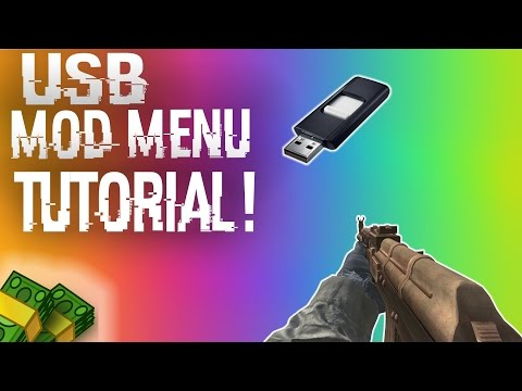 VOICE TUTORIAL: How To Install & Use USB Mod Menus + DOWNLOADS (BO2, MW2, GTA 5 + MORE!) Mp3