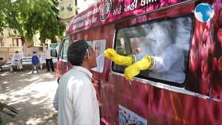 Coronavirus:  India rolls out mobile virus testing vans