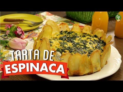 ¿Cómo preparar Tarta de Espinacas con Base de Papa? - Cocina Fresca