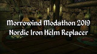 Morrowind Modathon 2019 - Nordic Iron Helm Replacer