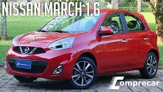 Avaliamos o Nissan March 1.6 SL