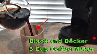 ✅  How To Use Black and Decker Coffee Maker Review