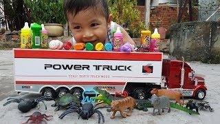 Trò Chơi Bé Vui Xe Mới Vui Nhộn ❤ ChiChi ToysReview TV ❤ Đồ Chơi Trẻ Em Baby Fun Bài Hát