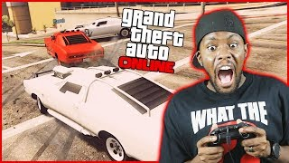 EVERYONE IS AGAINST ME! THEY DON'T WANT ME TO WIN! - GTA Online Race Funny Moments