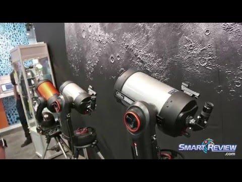 CES 2016 | Celestron Nexstar Evolution Telescopes | WiFi Enabled | SmartReview.com