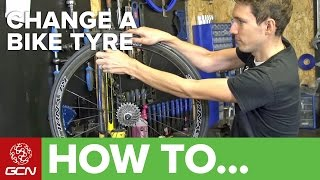 How To Change A Bike Tyre