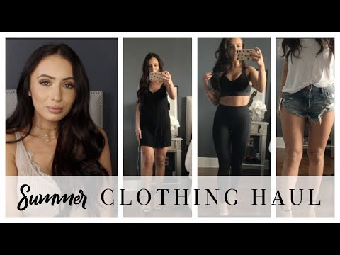 SUMMER CLOTHING HAUL | DRESSES, SHORTS, WORKOUT ATTIRE & MORE | AFFORDABLE