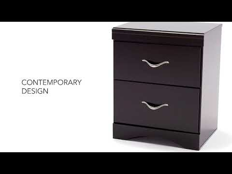 Zanbury B217-92 Two Drawer Night Stand