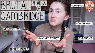 IS CAMBRIDGE WORTH IT?   BRUTALLY HONEST REVIEW OF MY 3 YEARS AT UNI & SPILLING LOTS OF TEA