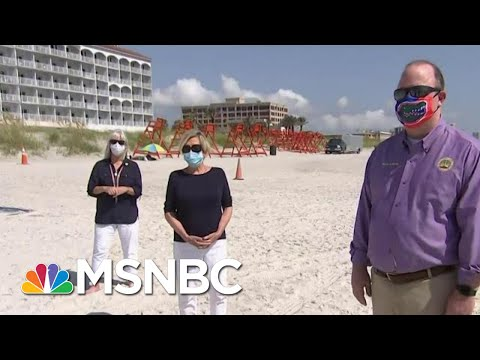 Florida Mayors: Beaches Are Open But 'We Don't Want You To Come' | Hallie Jackson | MSNBC