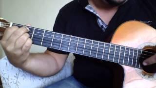 B7 Akorunun Gitar üzerindeki Yeri