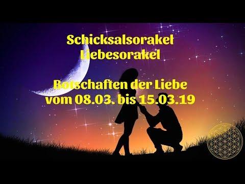 Schicksal Liebesorakel vom 08.03. bis 15.03.2019 / Liebesorakel für den Monat März