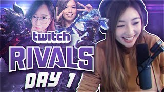 TWITCH RIVALS DAY 1 | XCHOCOBARS LEAGUE OF LEGENDS
