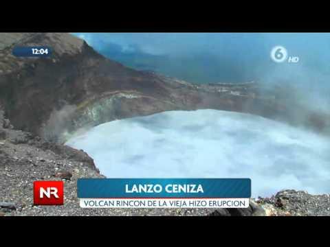 Erupción del Volcán Rincón de la Vieja