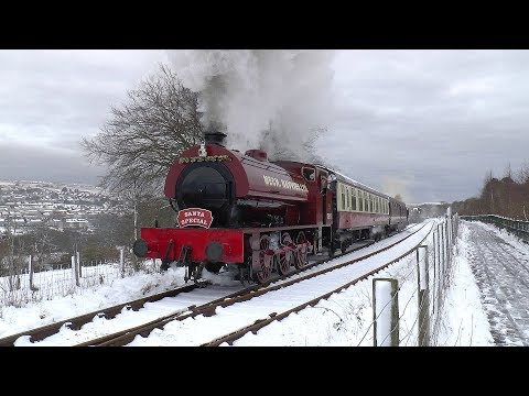 Steam & Snow with the Pontypool & Blaenavon Railway Santa Sp…