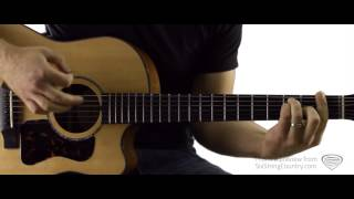 Sunny and 75 - Guitar Lesson and Tutorial - Joe Nichols