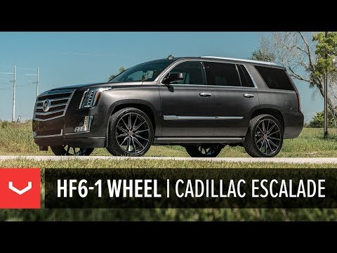 Vossen Hybrid Forged HF6-1 Wheel | Cadillac Escalade