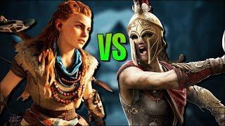 HORIZON Zero Dawn VS AC Odyssey - Welches Spiel ist besser? - HZD Livestream
