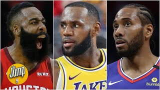 Are The Rockets The Biggest Threat To The Lakers & Clippers? | The Jump