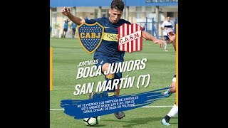 Juveniles: Boca Vs. San Martín, Por Streaming