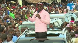 Mimi hustler ndiye naibu rais wa Kenya, sijakuja utalii pwani,