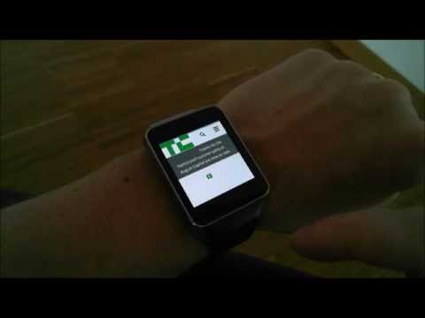 Video of Web Browser for Android Wear