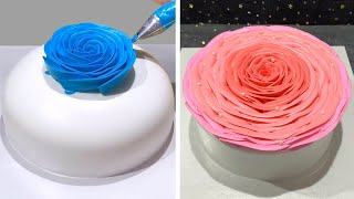 How To Make Cake Decorating Ideas For Birthday 😍 Quick Chocolate Cake Decorating Tutorials