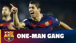Luis Suárez single-handedly sinks Eibar with a hat-trick at Camp Nou in 2015/16 season