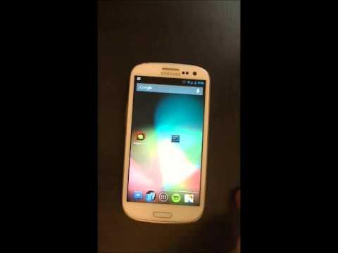 Video of Lock Screen Notifications