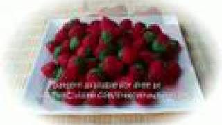Felt Crafts - FREE Felt Food Strawberry Patterns - From The Felt Cuisine Series, By Hiromi Hughes