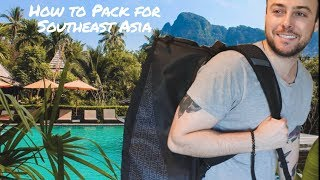 How To Pack For Southeast Asia (Packing Guide & Travel Gear)