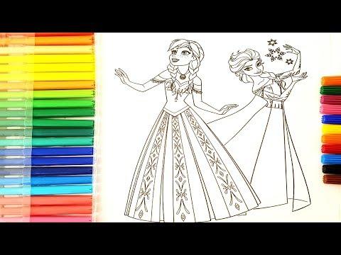 Yeni Elsa Anna Boyama Resim Boyama
