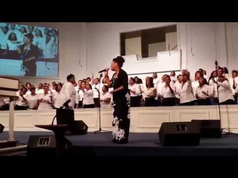 Benita Washington ministers Amazing Ricky Dillard