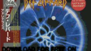 def leppard - i wanna touch you - Adrenalize
