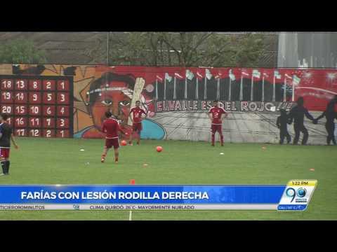 Incapacidad de Ernesto 'Tecla' Farías por lesión en rodilla se definirá este miércoles
