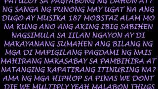 We Dont Die We Multiply(WDDWM) Lyrics-187 Mobstaz