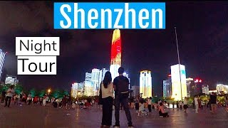 Video : China : ShenZhen 深圳 night scene