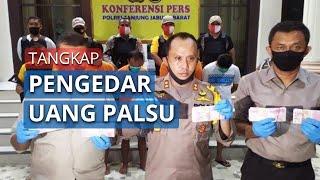 Polisi Tangkap Pengedar Uang Palsu dan Amankan Barang Bukti Sebesar Rp245.300.000