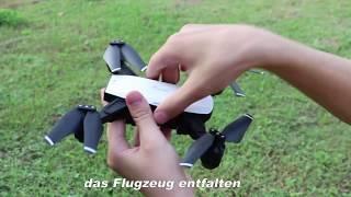 Deutsche HD142-Anweisungen vor dem Fliegen