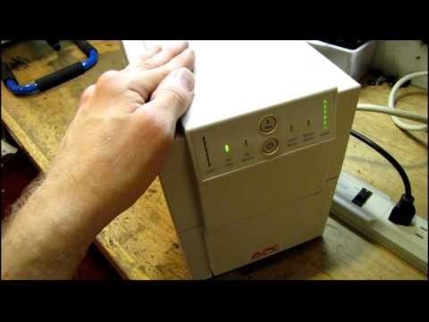 Replace and calibrate batteries in an APC Smart-UPS