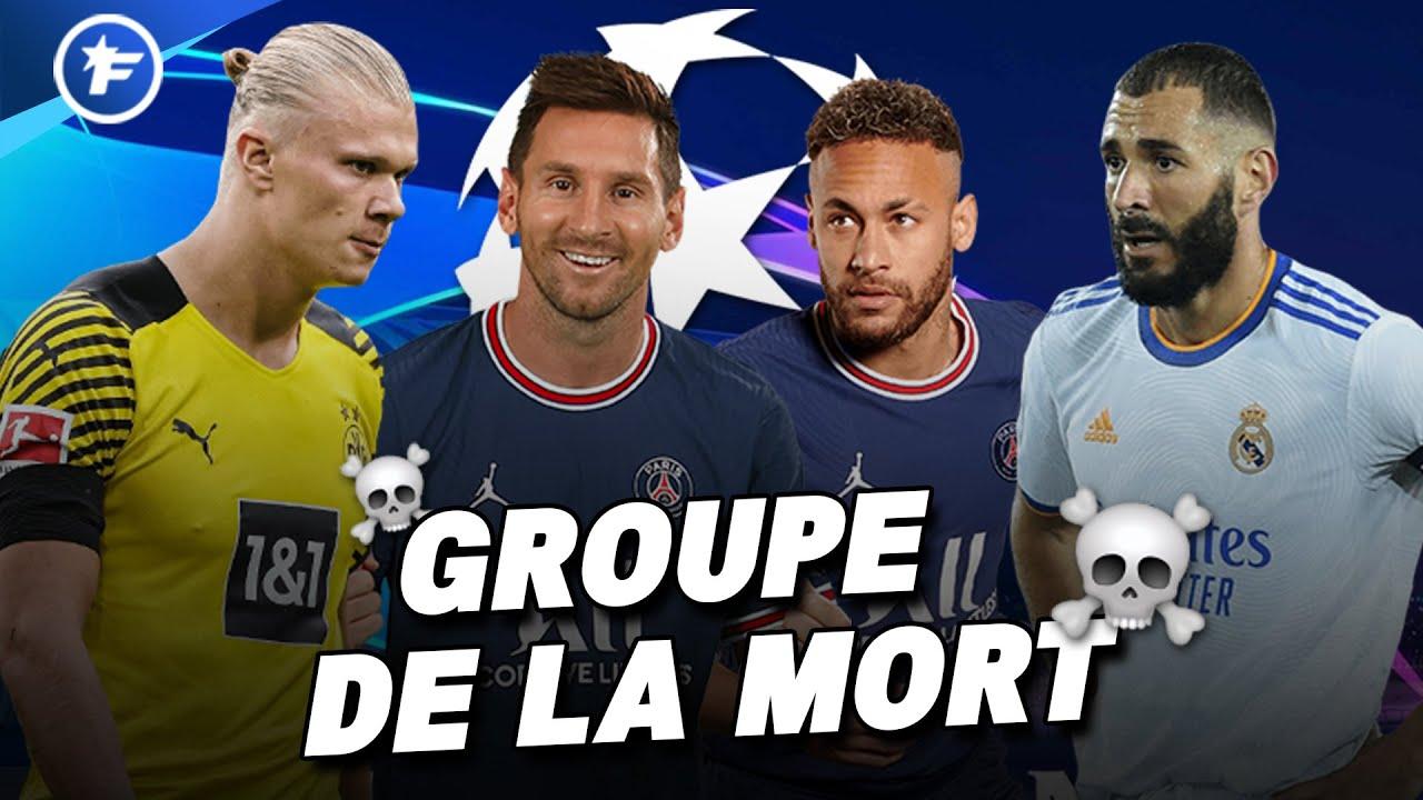 Ligue des Champions : GROUPE de la MORT pour le PSG, le tirage complet de la phase de poules