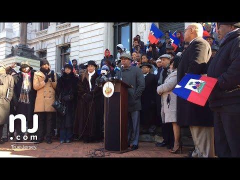 Newark Mayor Ras Baraka calls Trump a 'racist president'