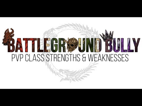 PvP Class Strengths and Weaknesses — Elder Scrolls Online