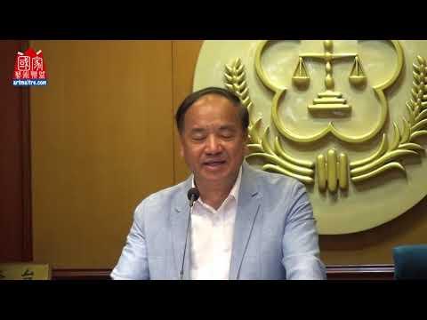 2020年東亞彩墨生輝會員聯展 中華藝遊學會理事長 吳國勝將軍致詞