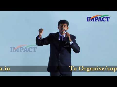 Boring Cause Suicide | Srinivas Rao | TELUGU IMPACT Warangal 2017
