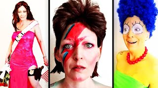 Breast Cancer Patient Dresses Up as People Who Inspire Her