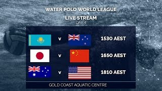 Water Polo World League - Day 4