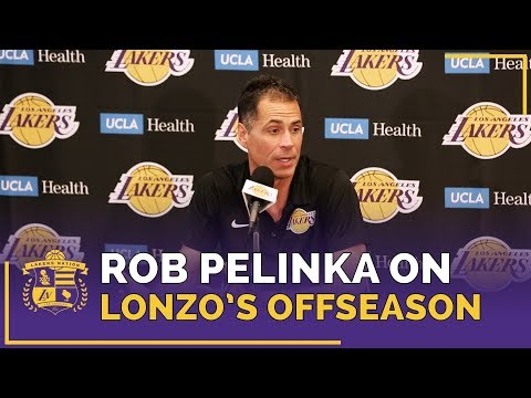 Rob Pelinka Impressed By Lonzo Ball Offseason Workouts eb113e7f0