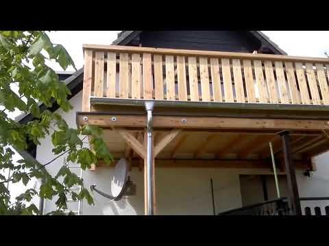 Holzbalkon, Balkonbau, Holzbalkonbau aus Douglasie, Lärche Neubau - Holzbalkone sanieren